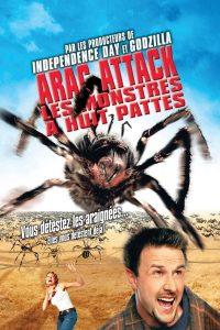 """Affiche du film """"Arac attack, les monstres à huit pattes"""""""