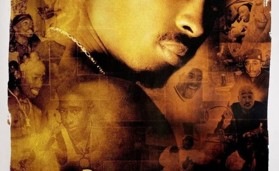 "Affiche du film ""Tupac: Resurrection"""