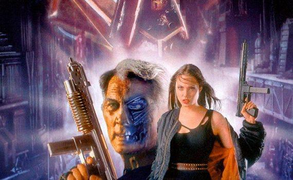 """Affiche du film """"Cyborg 2"""""""