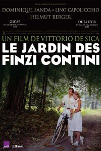"Affiche du film ""Le jardin des Finzi-Contini"""