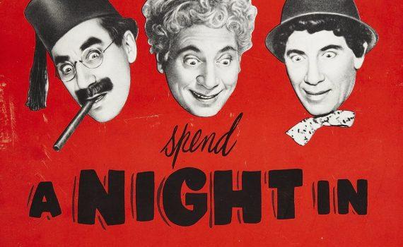 """Affiche du film """"Une nuit à Casablanca"""""""