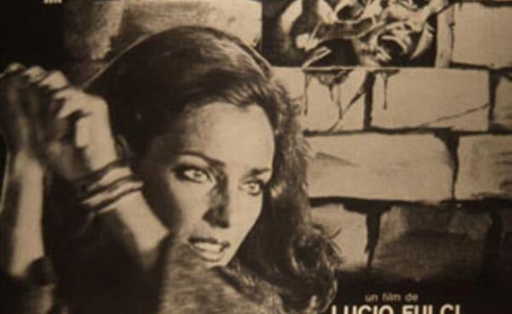 """Affiche du film """"L'Emmurée vivante"""""""