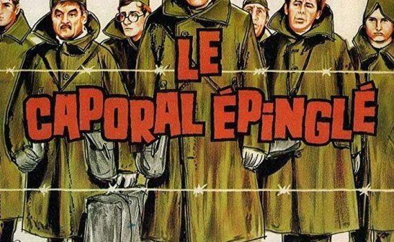 """Affiche du film """"Le Caporal épinglé"""""""