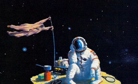 """Affiche du film """"Les Débiles de l'espace"""""""
