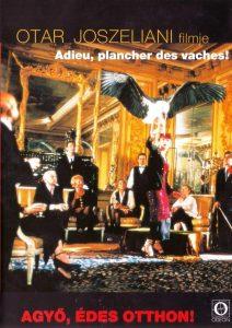 """Affiche du film """"Adieu, plancher des vaches!"""""""
