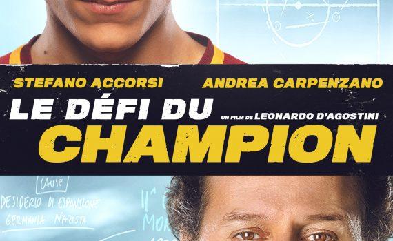 """Affiche du film """"Le Défi du champion"""""""