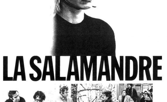 """Affiche du film """"La Salamandre"""""""