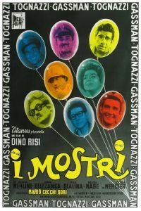 """Affiche du film """"Les monstres"""""""