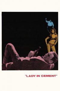 """Affiche du film """"La femme en ciment"""""""
