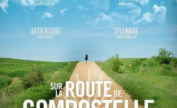 """Affiche du film """"Sur la route de Compostelle"""""""