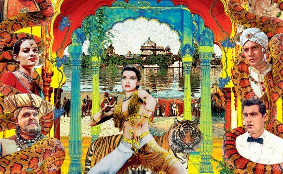 """Affiche du film """"Le tigre du Bengale"""""""