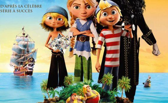 """Affiche du film """"Capitaine Dent de Sabre et le diamant magique"""""""