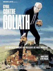 """Affiche du film """"Cyril contre Goliath"""""""