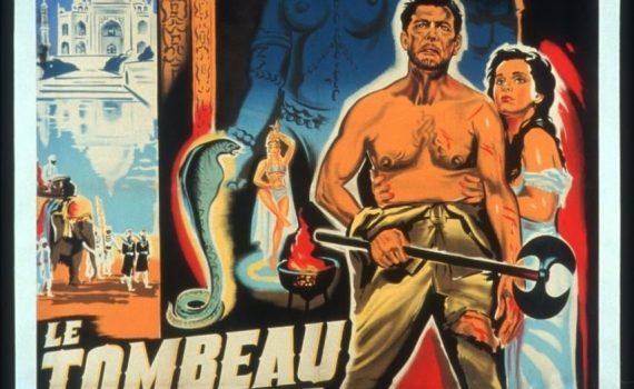 """Affiche du film """"Le tombeau Hindou"""""""