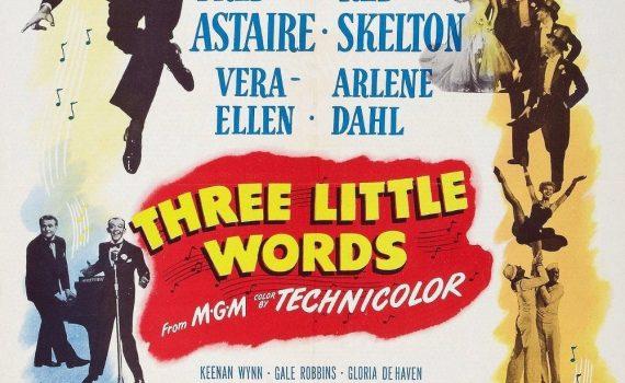 """Affiche du film """"Trois petits mots"""""""