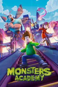 "Affiche du film ""Monsters Academy"""