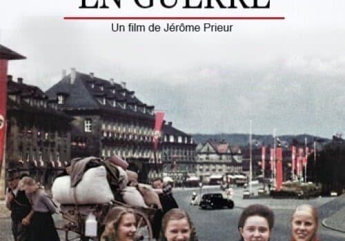 """Affiche du film """"Vivre dans l'Allemagne en guerre"""""""