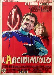 """Affiche du film """"L'arcidiavolo"""""""