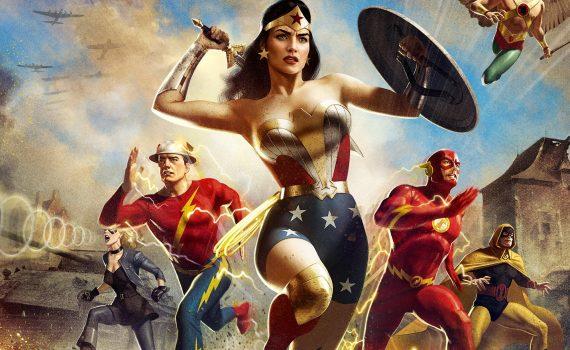 """Affiche du film """"Justice Society : World War II"""""""