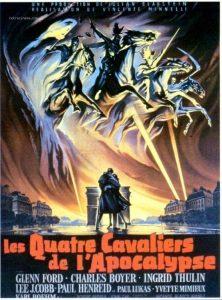 """Affiche du film """"Les Quatre Cavaliers de l'Apocalypse"""""""