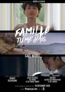 """Affiche du film """"Famille tu me hais"""""""