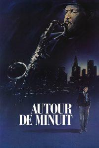 """Affiche du film """"Autour de minuit"""""""