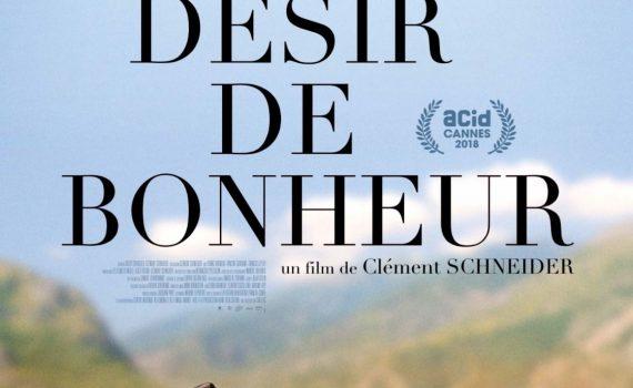 """Affiche du film """"Un violent désir de bonheur"""""""