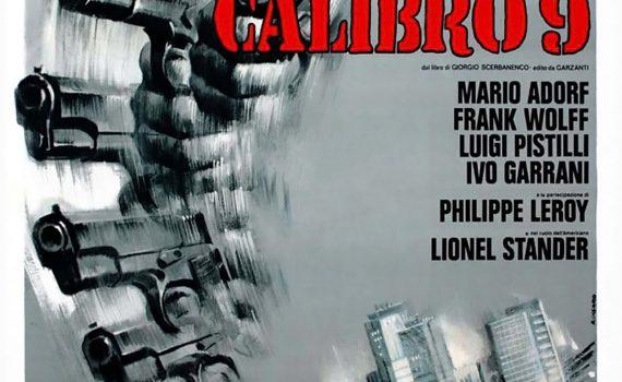 """Affiche du film """"Milan Calibre 9"""""""