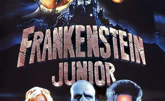 """Affiche du film """"Frankenstein Junior"""""""