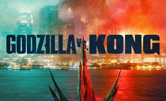 "Affiche du film ""Godzilla vs. Kong"""