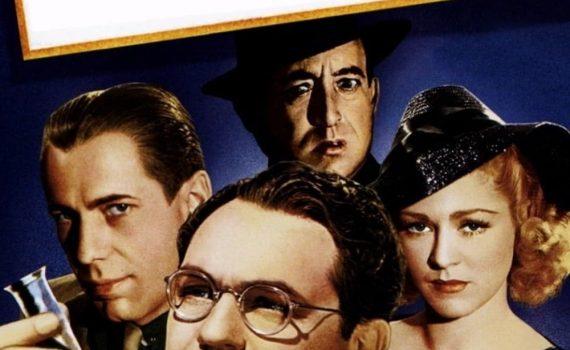 """Affiche du film """"Le mystérieux docteur Clitterhouse"""""""