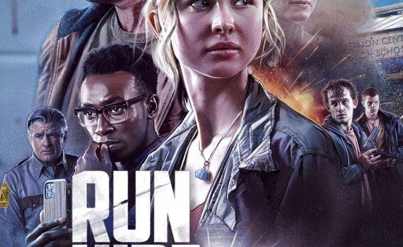 """Affiche du film """"Run Hide Fight"""""""