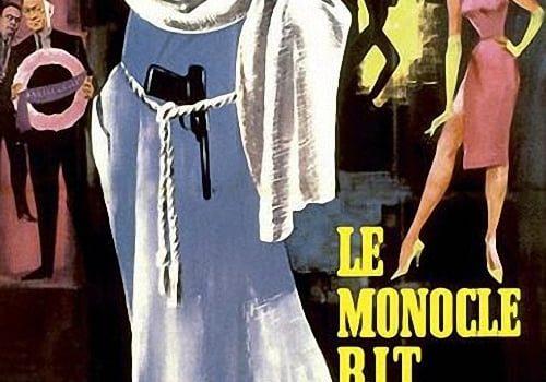 """Affiche du film """"Le Monocle rit jaune"""""""