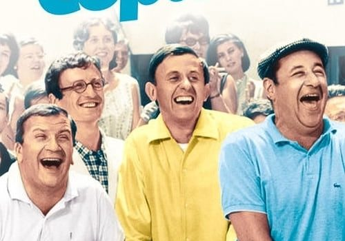 """Affiche du film """"Les Copains"""""""