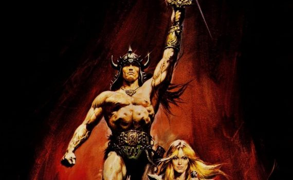 """Affiche du film """"Conan le barbare"""""""