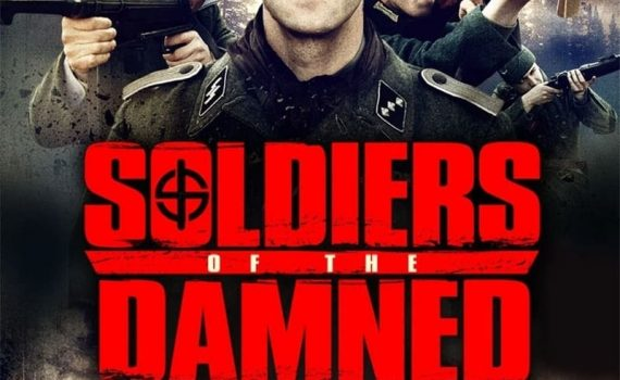 """Affiche du film """"Soldiers of the damned"""""""
