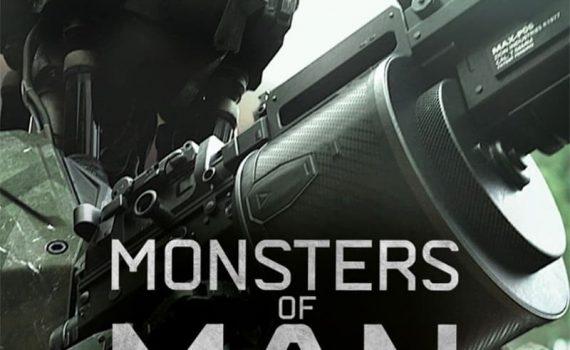 "Affiche du film ""Monsters of Man"""