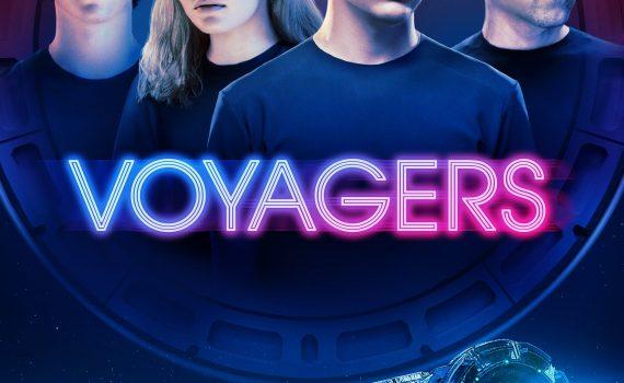 "Affiche du film ""Voyagers"""