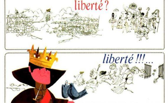 """Affiche du film """"Le Roi de cœur"""""""
