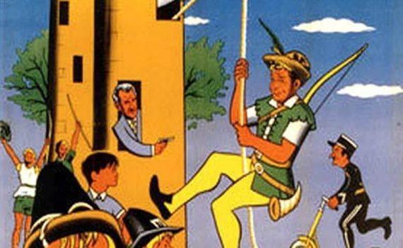 """Affiche du film """"Le dernier Robin des Bois"""""""