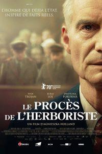 """Affiche du film """"Le Procès de l'herboriste"""""""
